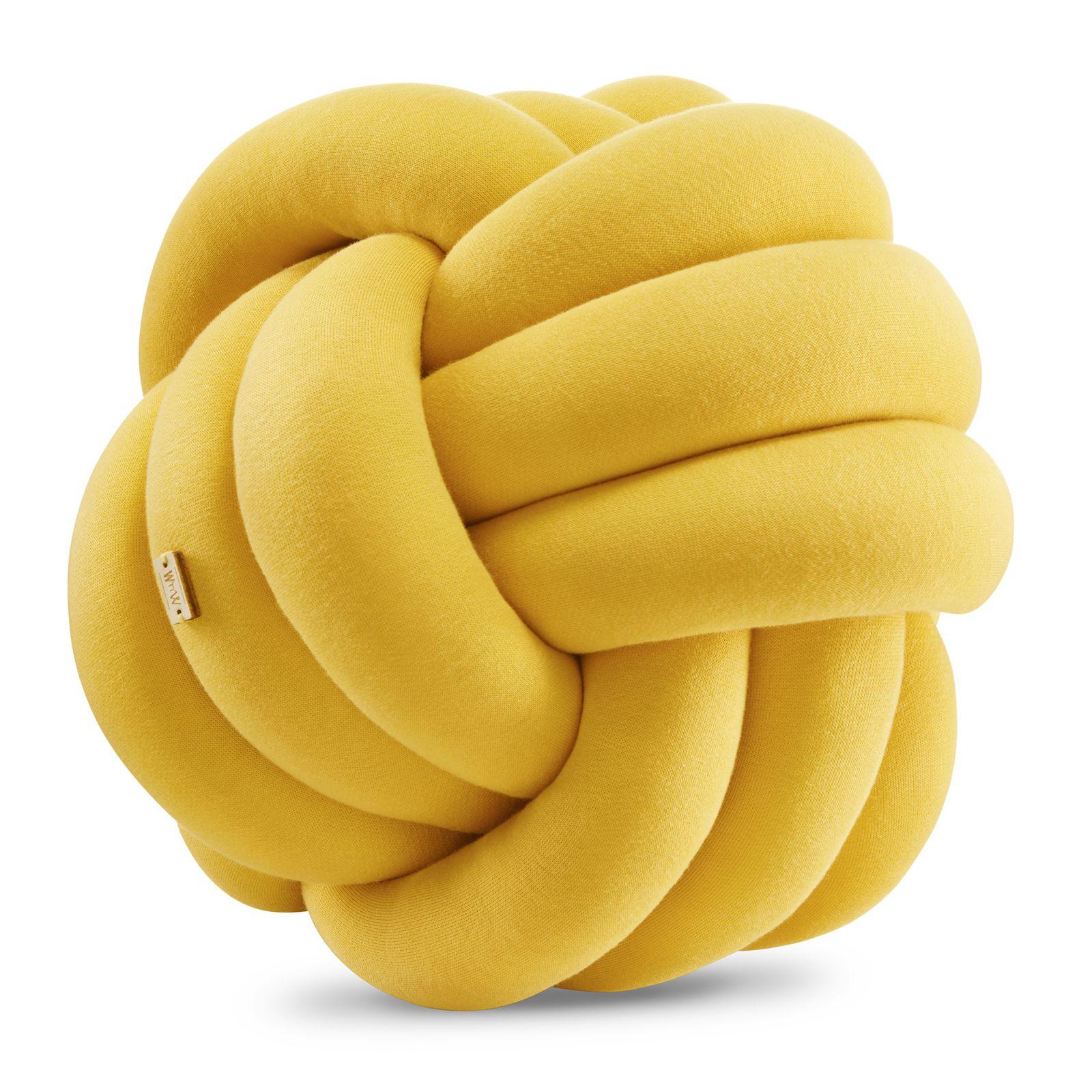 Supeł Ball musztardowy // mustard
