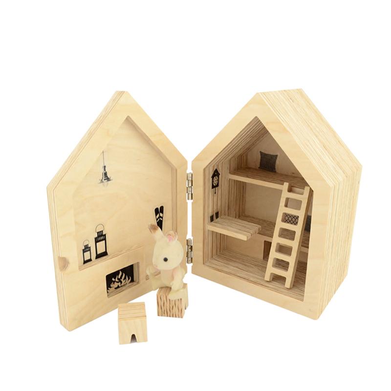 Poważne Dziecko :: Gry i zabawki :: Domek dla lalek Chatka góralska JY19
