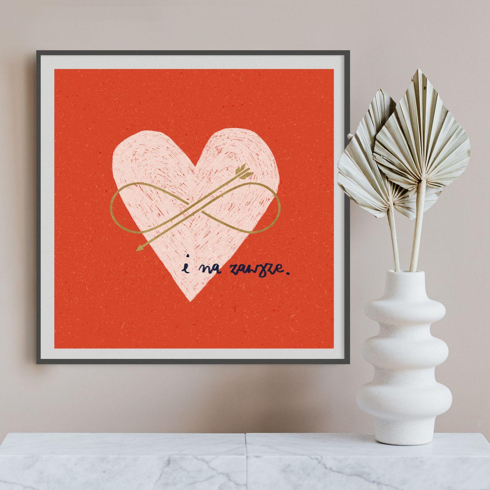 Plakat Miłość I na zawsze