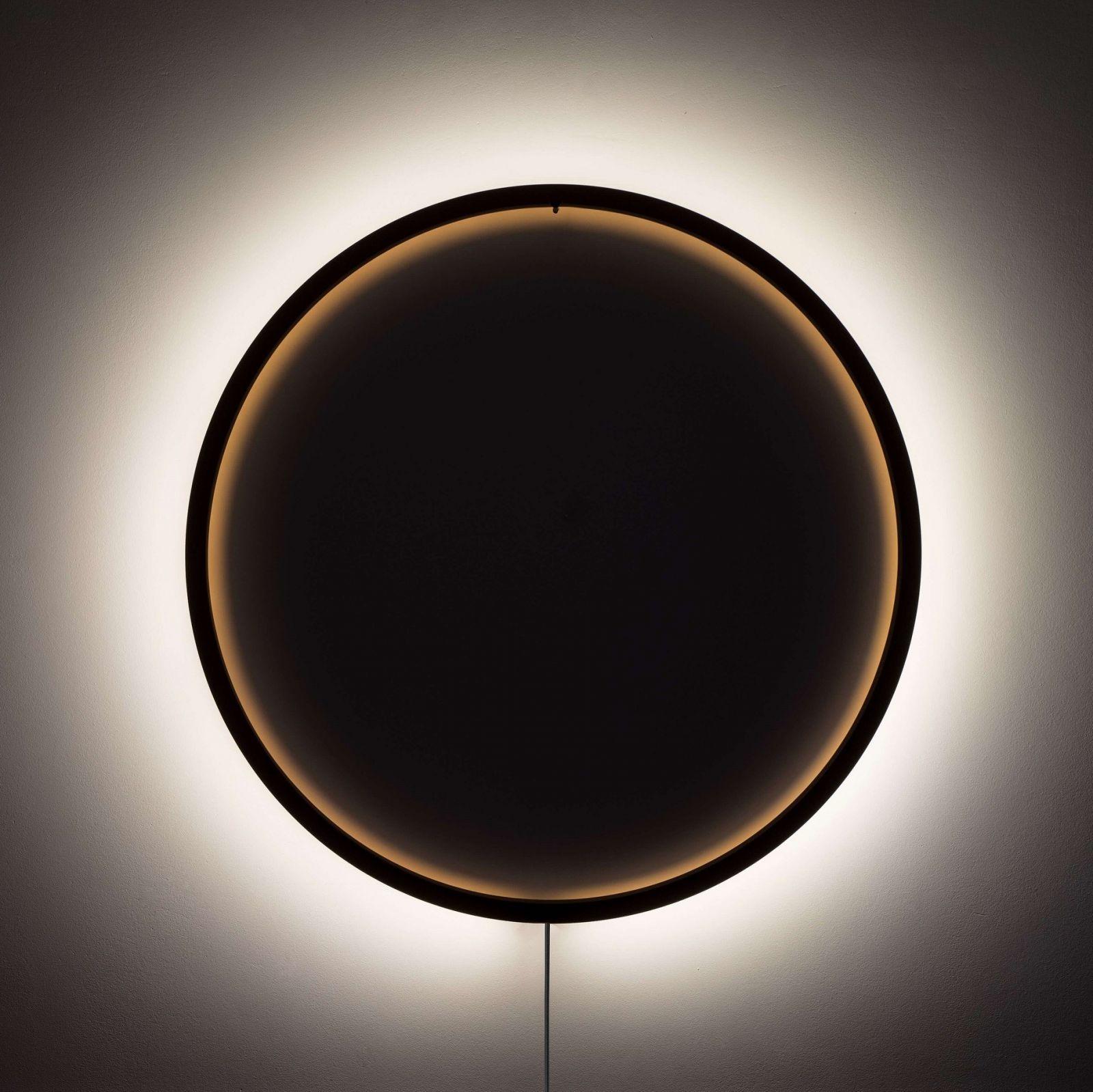 Lampa ścienna Duże-Thło w kolorze brązowym