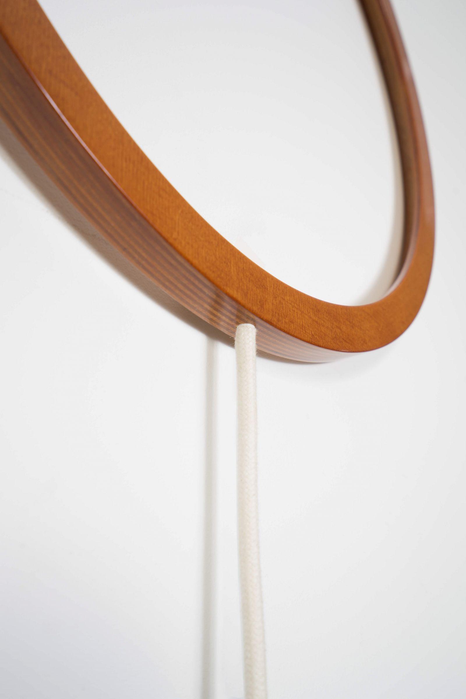 Lampa ścienna Duże- Thło w kolorze brązowym detal