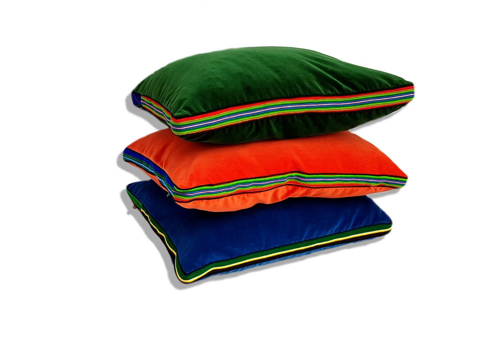 Energetyczne poduszki folk glamour