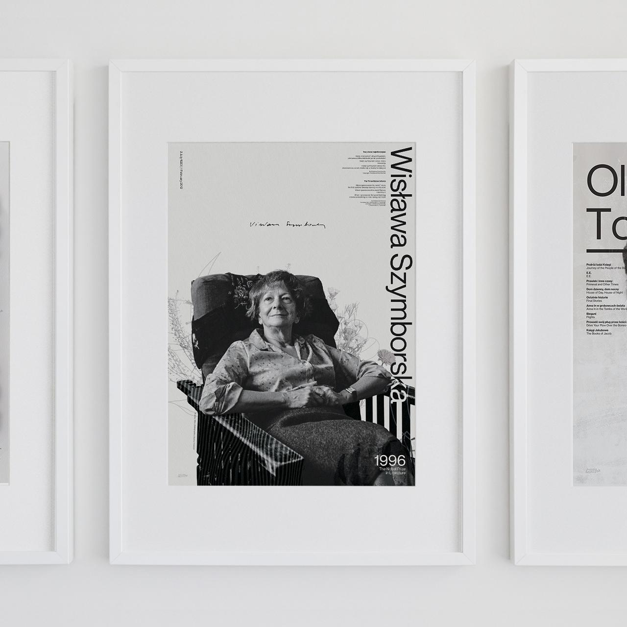 Plakat  Wisława Szymborska Set