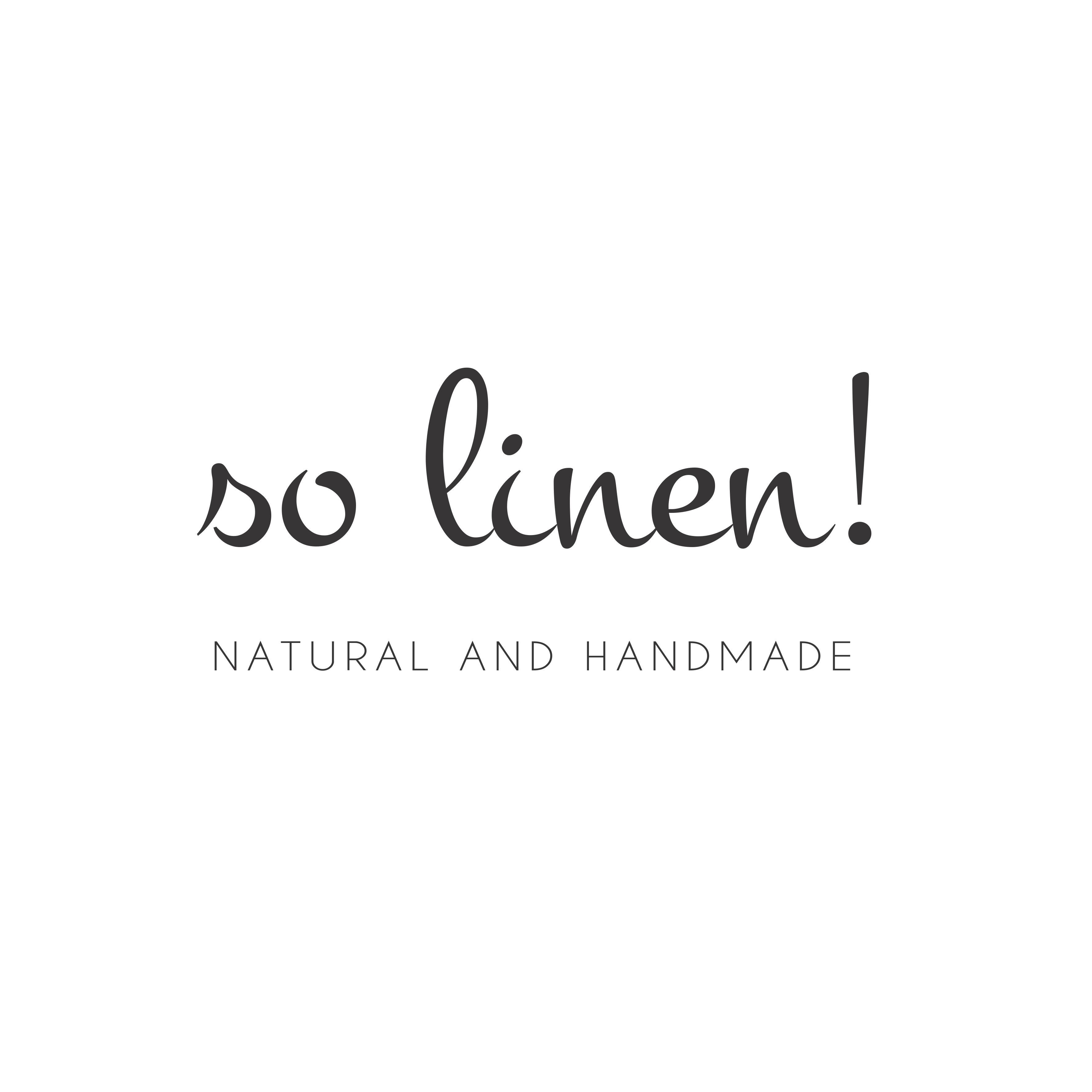 so linen!
