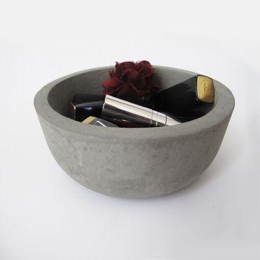 Concrete Pot MALUCH— jako naczynie na kosmetyki
