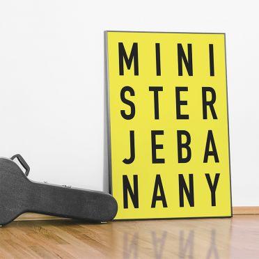 Plakat minister