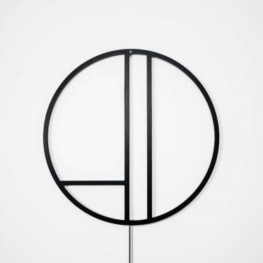 Lampa ścienna Linie-Thła w kolorze czanym