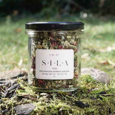 Herbata ekologiczna SIŁA