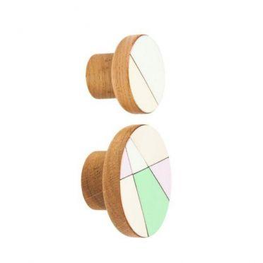 Emaliowane gałki meblowe MODERNA Pastel - DOT Manufacture